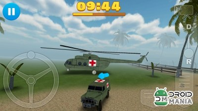 Скриншот 4x4 Off-Road Ambulance Game №1