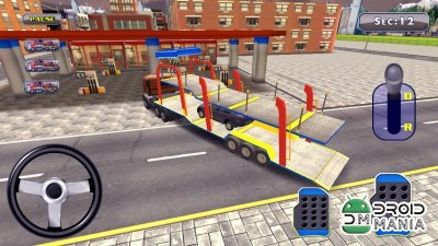Скриншот Car Trailer Transport parking №3