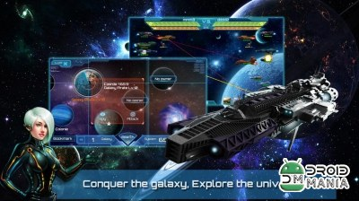 Скриншот Galactic Clash: War of Galaxy №3
