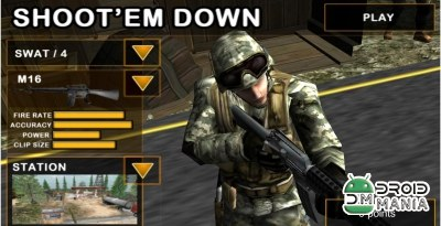 Скриншот Shoot`Em Down: Shooting game №1