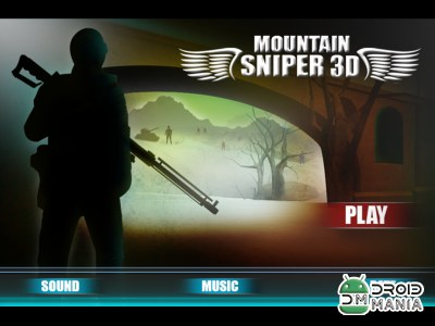 Скриншот Mountain Sniper Shadow Strike №1