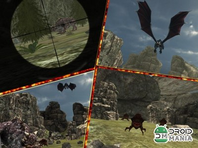 Скриншот Dragon Sniper Hunting 3D №3