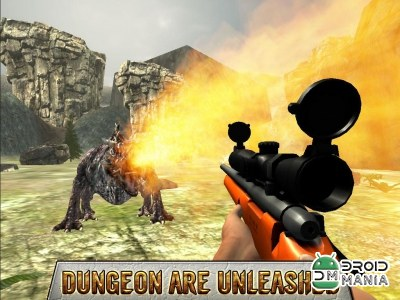 Скриншот Dragon Sniper Hunting 3D №4