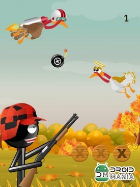Скриншот Stickman Turkey Hunter Free №3
