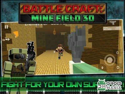 Скриншот Battle Craft: Mine Field 3D №3