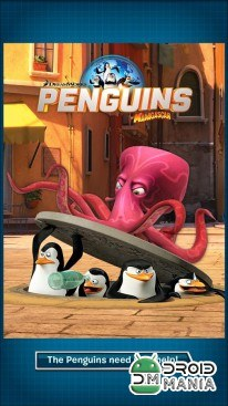 Скриншот Penguins of Madagascar: Dibble dash №1
