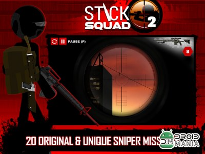 Скриншот Stick Squad 2 - Shooting Elite №2