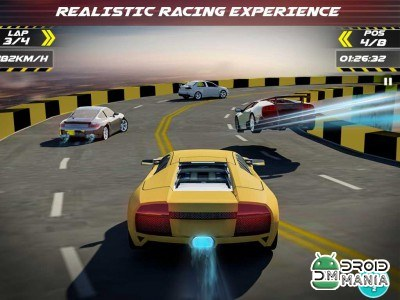 Скриншот Real Car Driver – 3D Racing №1