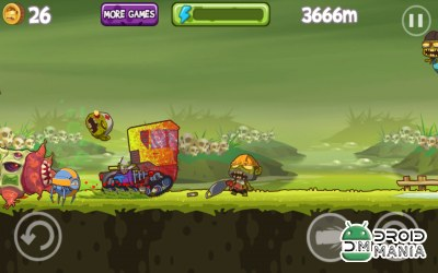 Скриншот Mad Zombies: Road Racer №2