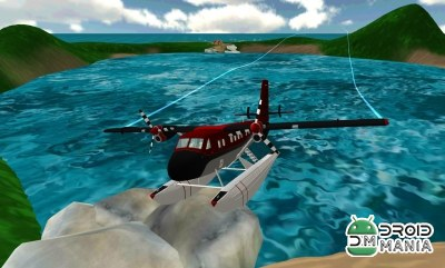 Скриншот Sea Plane: Flight Simulator 3D №2