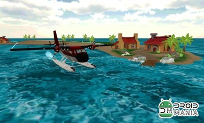 Скриншот Sea Plane: Flight Simulator 3D №3