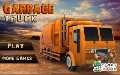 Скриншот City Garbage Cleaner Truck 3D №1