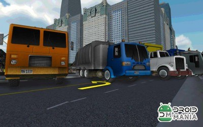 Скриншот City Garbage Cleaner Truck 3D №4
