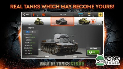 Скриншот War of Tanks: Clans №1