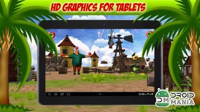 Скриншот Apple Shooter 3D №3