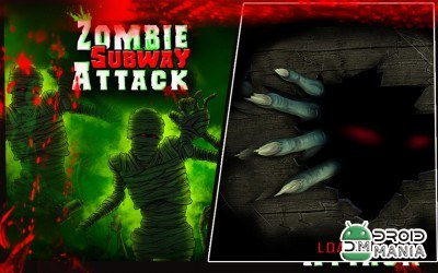 Скриншот Angry Zombie Subway Attack 3D №1
