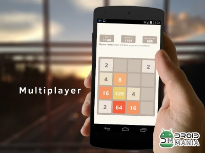 Скриншот 2048 Number Puzzle game №3
