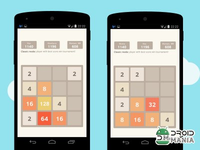 Скриншот 2048 Number Puzzle game №4