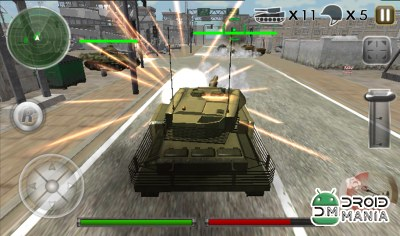Скриншот Tank Defense Attack War 3D №1