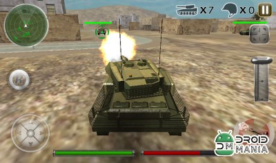 Скриншот Tank Defense Attack War 3D №4