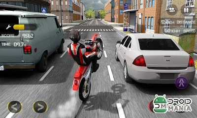Скриншот Race the Traffic Moto №1