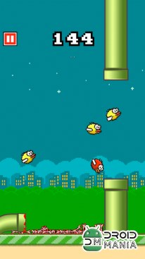 Скриншот Flappy Crush №2
