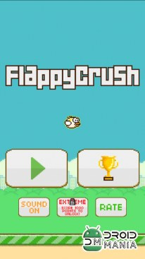 Скриншот Flappy Crush №3
