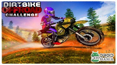 Скриншот Dirt Bike Offroad Challenge №1