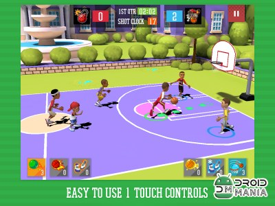 Скриншот BYS NBA Basketball 2015 №2