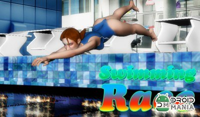 Скриншот Swimming Race 3D №1