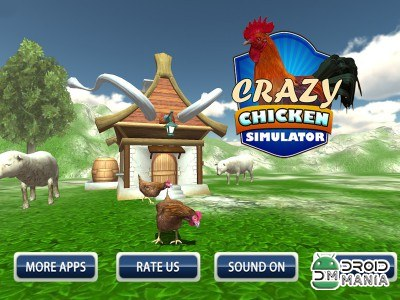 Скриншот Crazy Chicken Simulator 3D №1