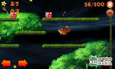 Скриншот Jump! Jumpy fox №1
