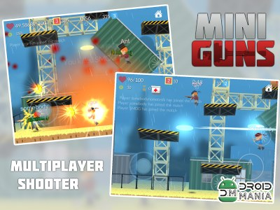 Скриншот MINI GUNS: Online Shooter №2