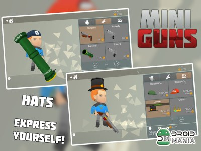 Скриншот MINI GUNS: Online Shooter №3