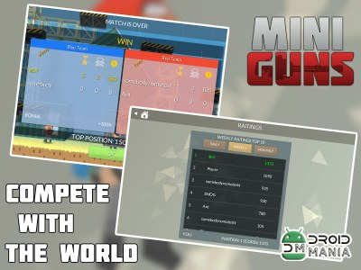 Скриншот MINI GUNS: Online Shooter №4