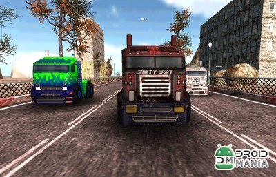 Скриншот Truck Racing Super Gear №1