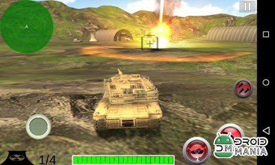 Скриншот Modern Battle Tank War №1