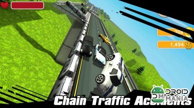 Скриншот Traffic Crash - Highway Racer №3
