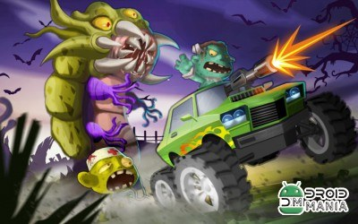 Скриншот Mad Zombies: Road Racer №4
