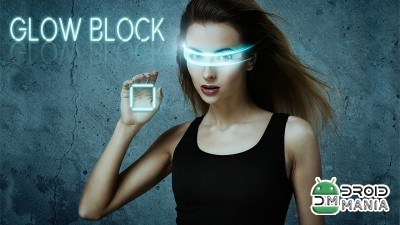Скриншот Glow Block – Neon Blocks Game №1