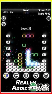 Скриншот Glow Block – Neon Blocks Game №3
