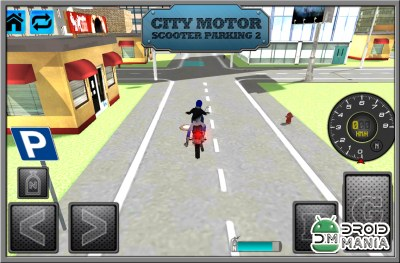 Скриншот City Motor Scooter Parking 2 №1