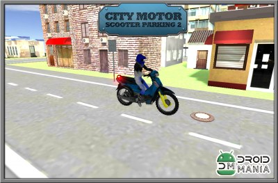 Скриншот City Motor Scooter Parking 2 №2