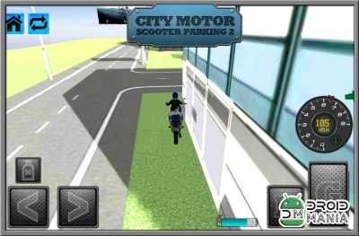 Скриншот City Motor Scooter Parking 2 №3