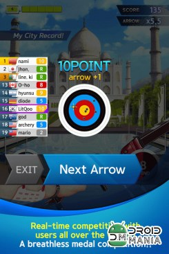 Скриншот ArcherWorldCup - Archery game №3