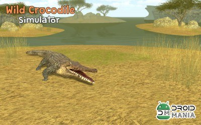 Скриншот Wild Crocodile Simulator 3D №1