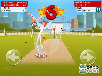 Скриншот Stick Cricket 2 №1