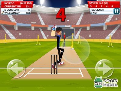 Скриншот Stick Cricket 2 №2
