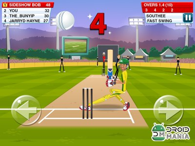 Скриншот Stick Cricket 2 №3