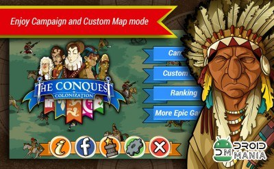Скриншот The Conquest: Colonization №1